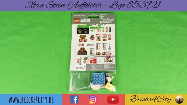 Lego 853921 - Xtra Steinaufkleber
