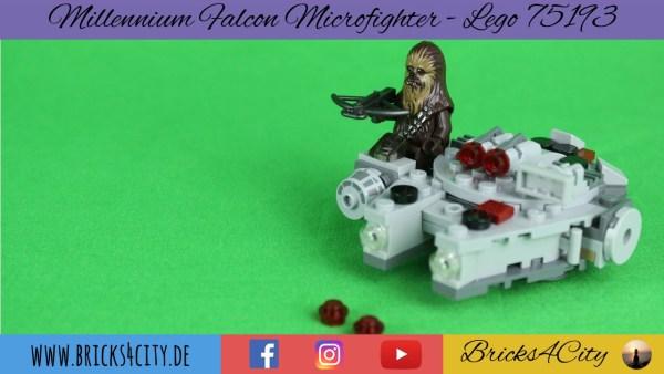 Lego 75193 - Millenium Falcon Microfighter