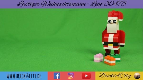 Lego 30478 - Lustiger Weihnachtsmann