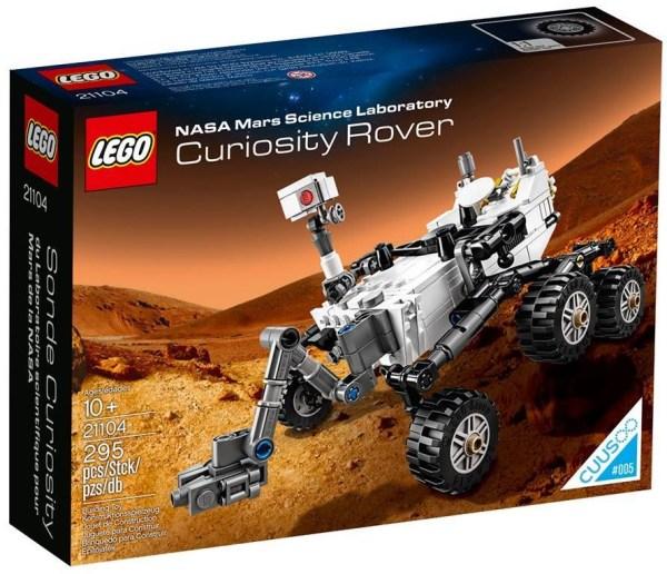 2014 LEGO NASA Mars Science Laboratory Curiosity Rover ...
