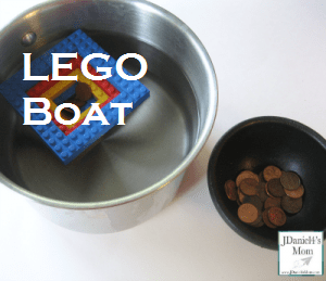 LEGO Boat Activity