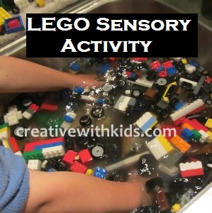 LEGO Sensory Tub Activity