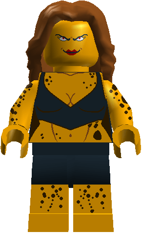 Over 100 DC Characters Made In LDD And MS Paint Minifig