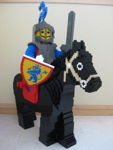 LEGO Giant Crusader Fig Horse