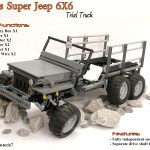 Coney S Willys Super Jeep 6x6 Trial Truck Lego Technic And Model Team Eurobricks Forums