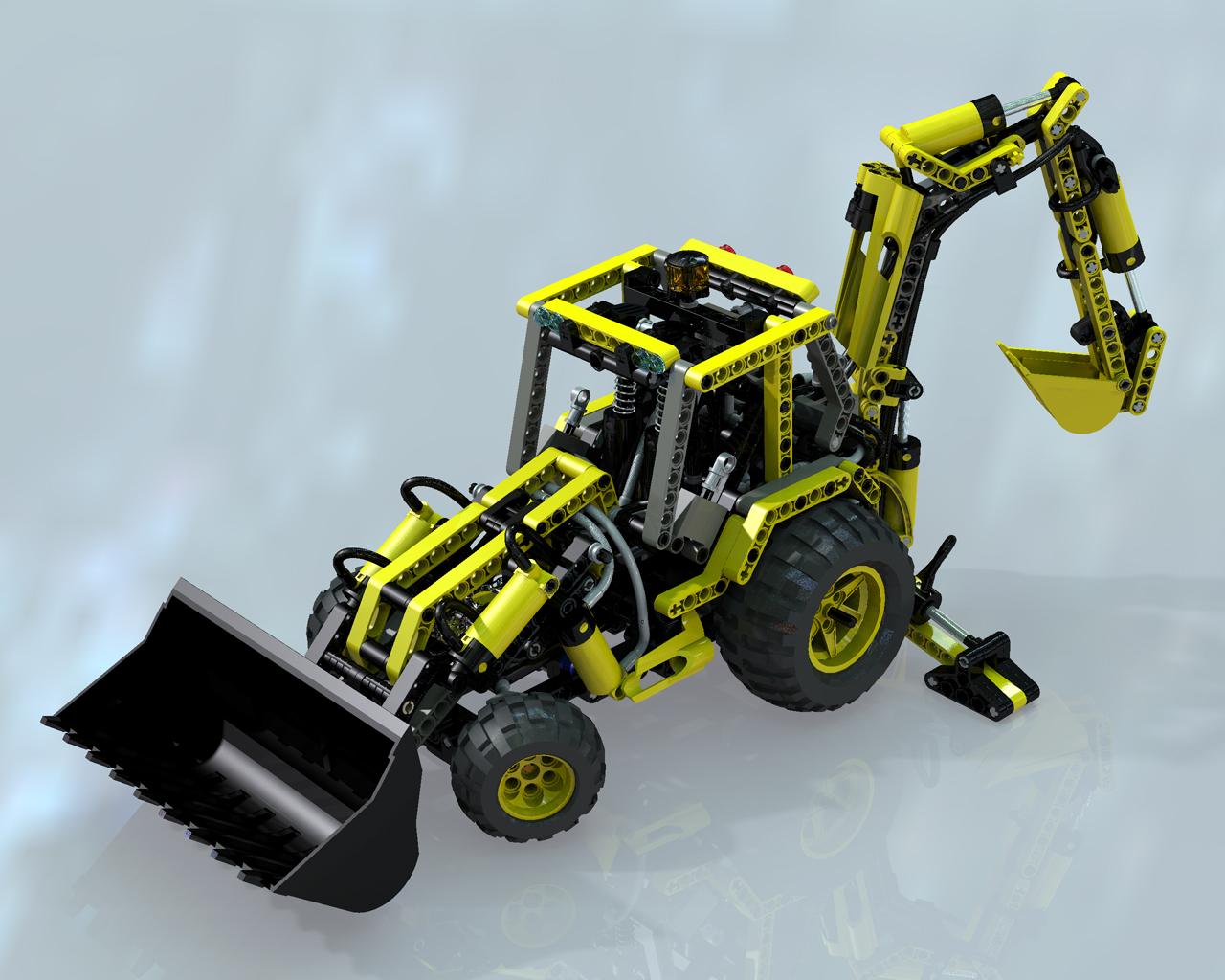 lego technic 8455 instructions