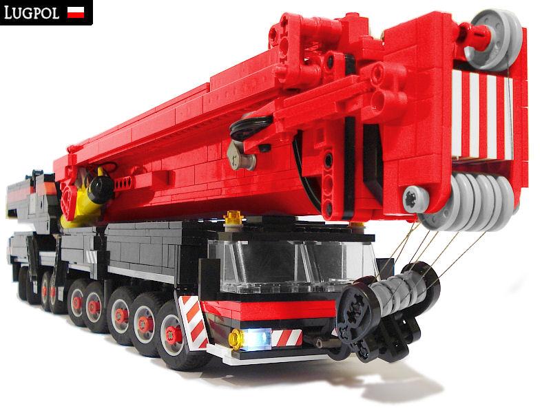 Maciej Drwiega's Lego Trucks