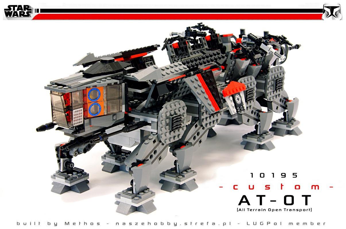 Star Wars AT-OT plus bonus MOC by Methos