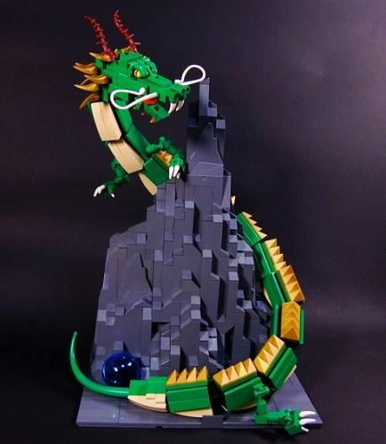 LEGO Chinese dragon