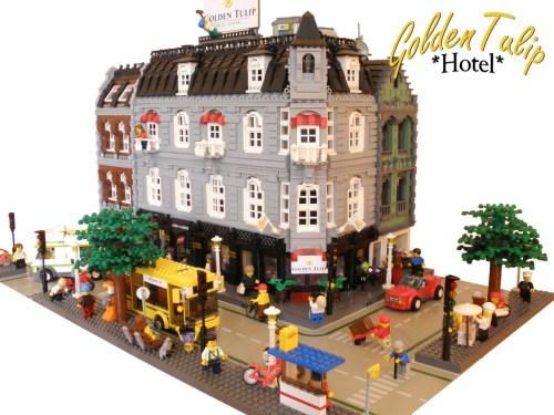 LEGO Hotel Golden Tulip