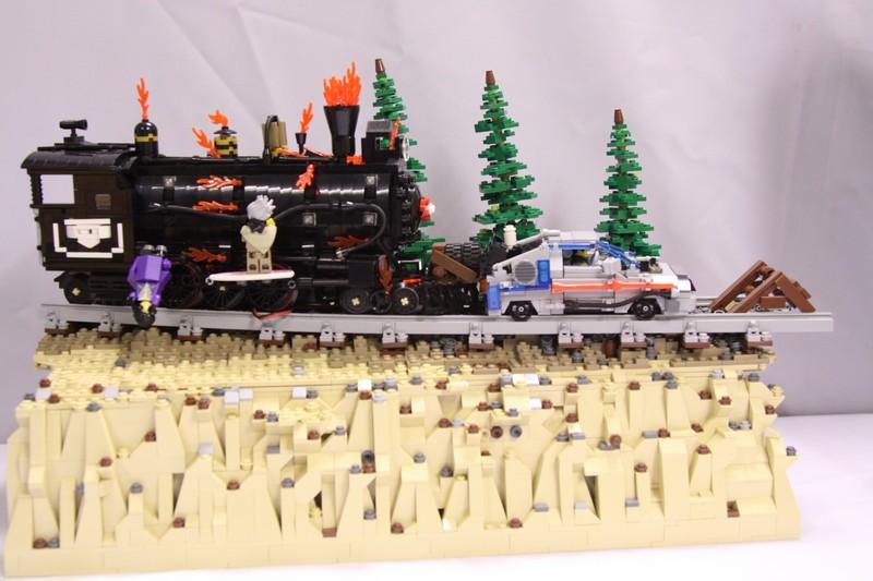 Back To The Future Iii Ww Category 1 Train Lego