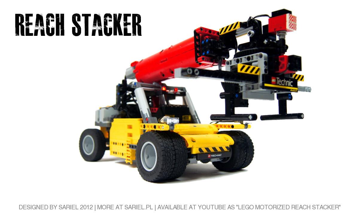 Reach Stacker by Sariel
