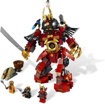 Recenzja: 9448 Samurai Mech