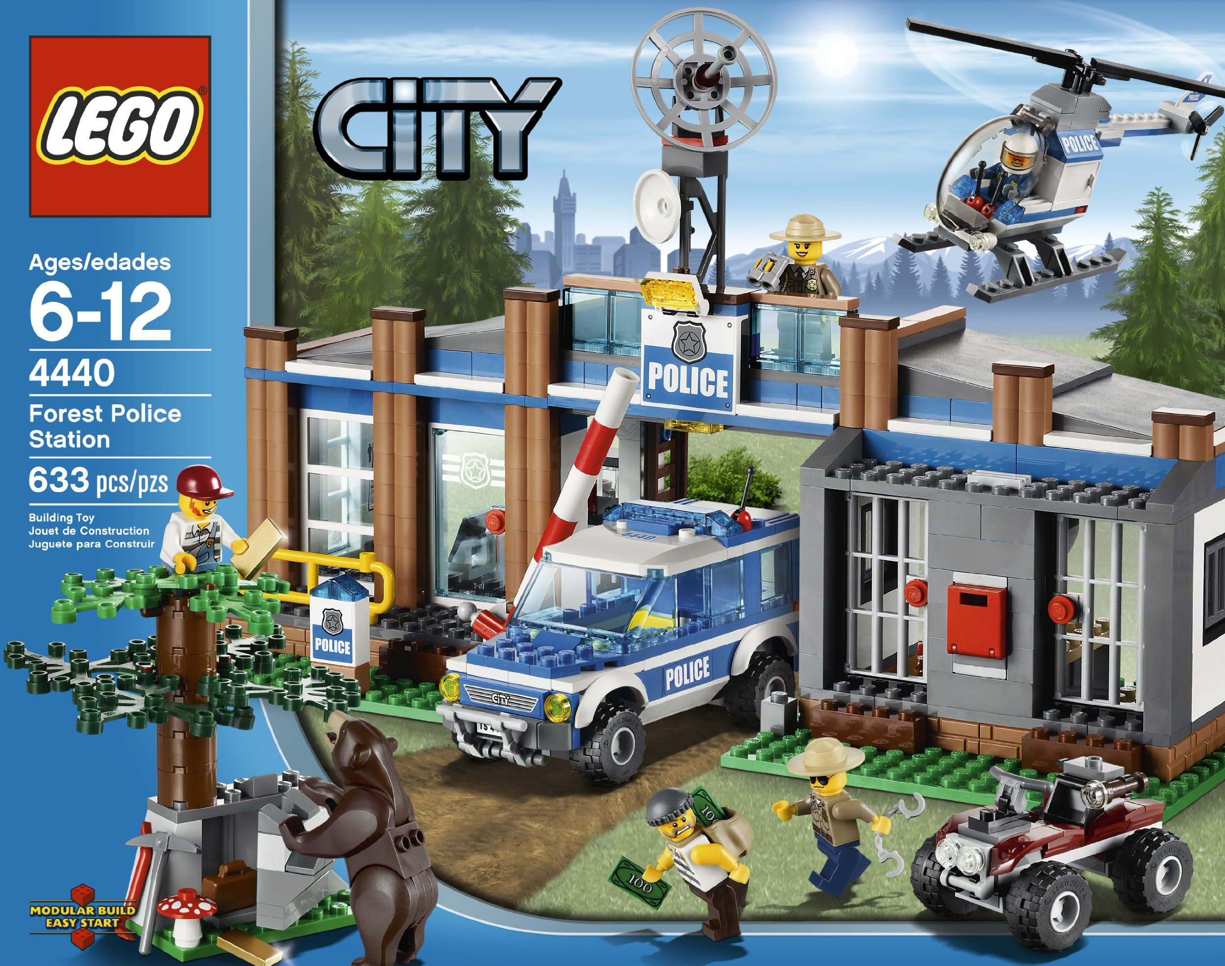 2012 lego city sets bring hillbillies bears forest fires park rangers news the brothers - Lego city police camion ...