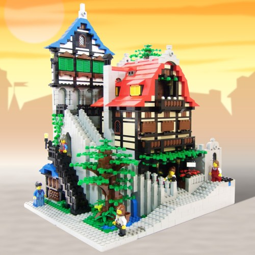 Lego Castle Magic Shop