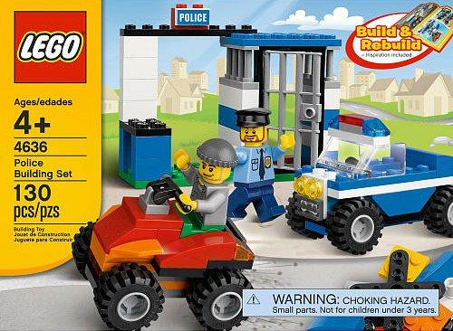 4636 Police Building Set