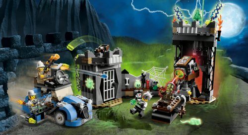 Recenzja: 9466 The Crazy Scientist & His Monster