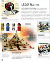 Dorsling Kindersely The LEGO Book 2012 games