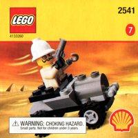 LEGO Adventurers Desert 2541 Adventurers Car
