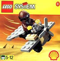 LEGO Adventurers Desert 2542 Adventurers Aeroplane
