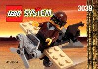 LEGO Adventurers Desert 3039 Adventurers Plane