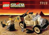 LEGO Adventurers Desert 5918 Scorpion Tracker