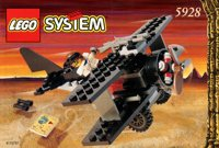 LEGO Adventurers Desert 5928 Bi-Wing Baron