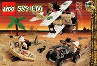 LEGO Adventurers Desert 2879 Desert Expedition 5909 Treasure Raiders 5948 Desert Expedition