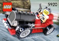 LEGO Adventurers Dino Island 5920 Island Racer