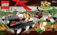LEGO Adventurers Dino Island 5934 Track Master