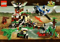 LEGO Adventurers Dino Island 5987 Dino Research Compound