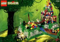 LEGO Adventurers Jungle 5986 Amazon Ancient Ruins