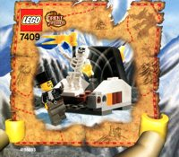 LEGO Adventurers 2003 Orient Expedition 7409 Secret of the Tomb