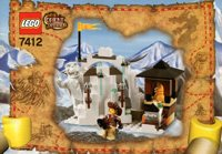 LEGO Adventurers 2003 Orient Expedition 7412 Yeti's Hideout