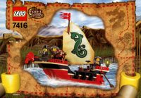 LEGO Adventurers 2003 Orient Expedition 7416 Emperor's Ship