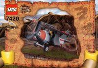 LEGO Adventurers 2003 Orient Expedition 7420 Thunder Blazer