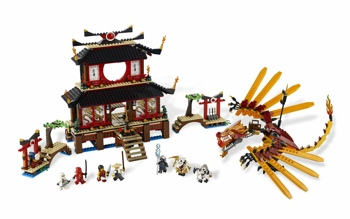 LEGO 2507 Fire Temple