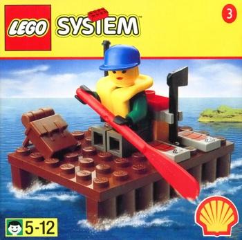 LEGO Town Extreme Team 2537 Extreme Team Raft