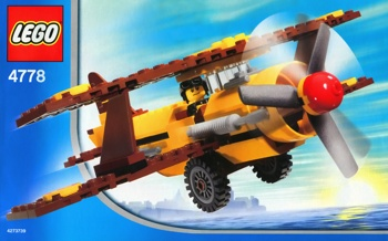 LEGO City 4778 Airline Promotional Set