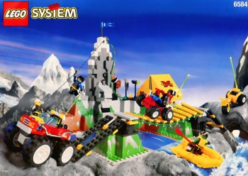 LEGO Town Extreme Team 6584 Extreme Team Challenge