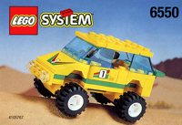 LEGO Outback 1997 6550 Outback Racer