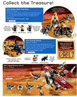 LEGO catalog Shop At Home 2011 Pharaoh's Quest