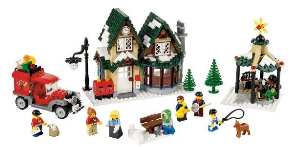 10222 Winter Village Post Office