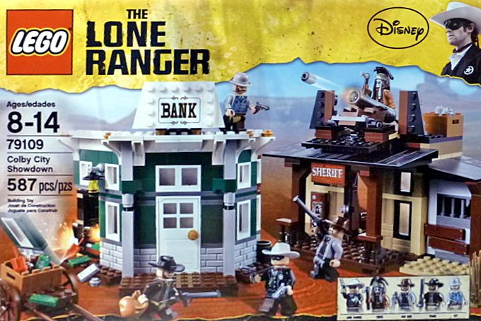 LEGO The Lone Ranger 79109 Colby City Showdown