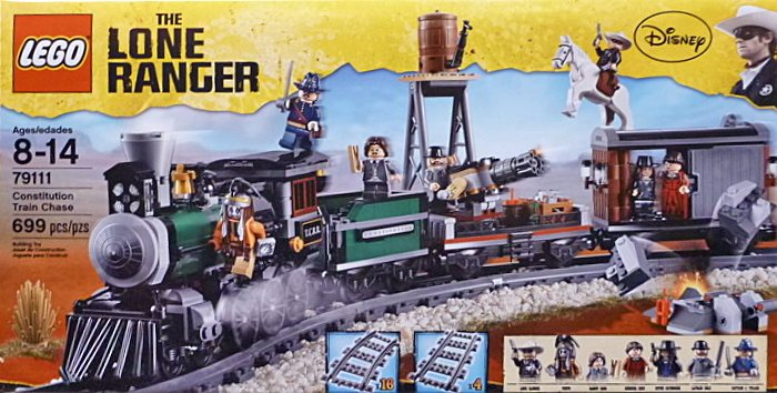 LEGO The Lone Ranger 79111 Constitution Train Chase