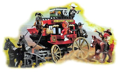 LEGO Disney The Lone Ranger 79108 Stagecoach Escape