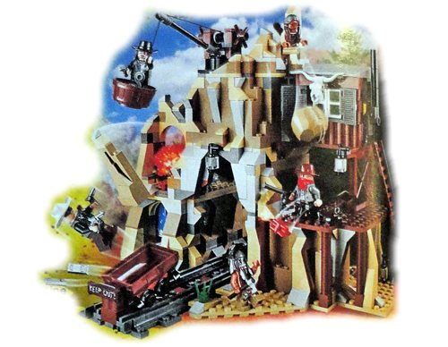 LEGO Disney The Lone Ranger 79110 Danger in the Silver Mine