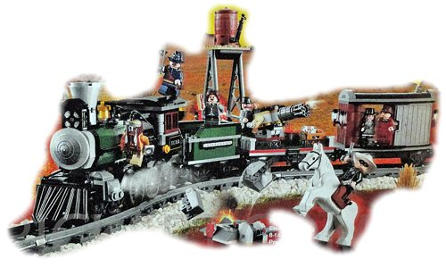 LEGO Disney The Lone Ranger 79111 Train Chase