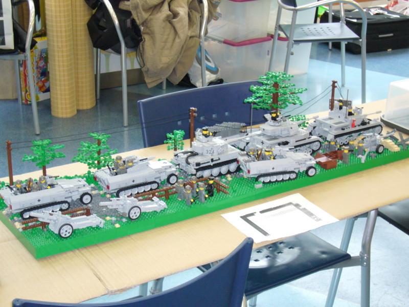 Diorama de Panzerbricks