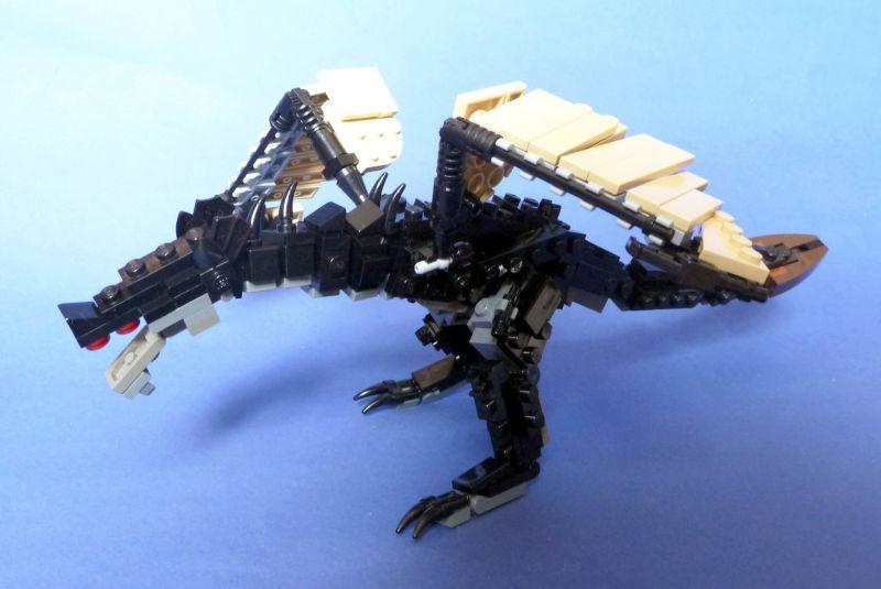 Mythical Creature - gambort - Skyrim black dragon